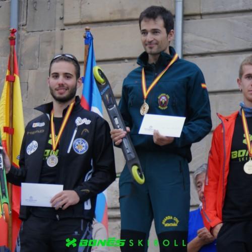 Triunfo de las marcas nacionales en los Campeonatos de España de Rollerski 2015