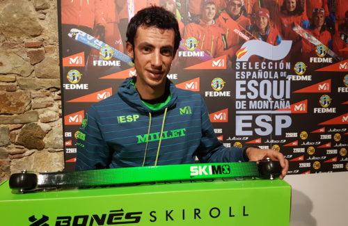 BONÉS Skiroll, nuevo patrocinador de la Selección Española de Esquí de Montaña