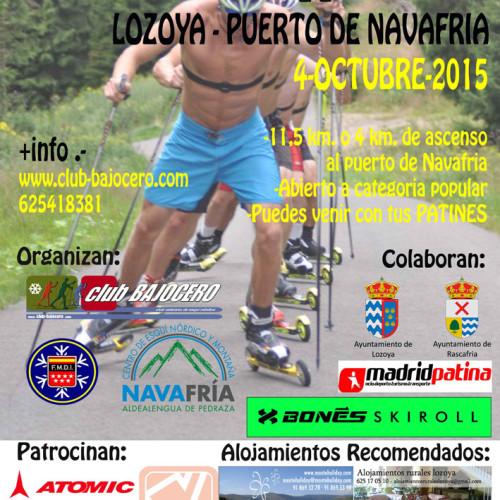 V Trofeo Rollerski. Lozoya-Pto de Navafria (4 octubre)