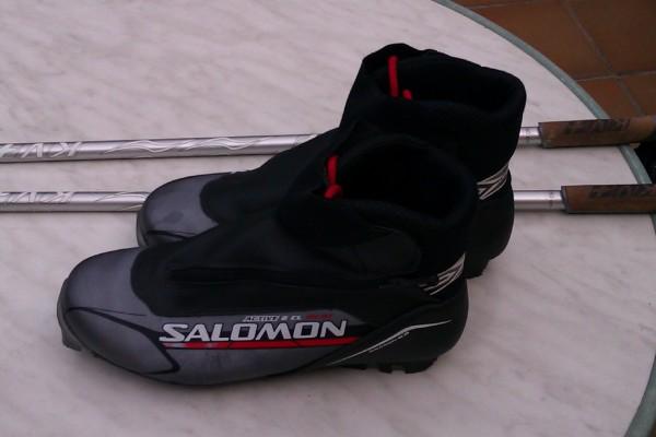 Botas Salomon Active 8 talla 44 2/3 Segunda Mano