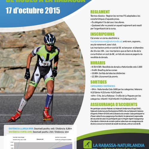 XX Subida en rollerski a La Rabassa (Andorra)