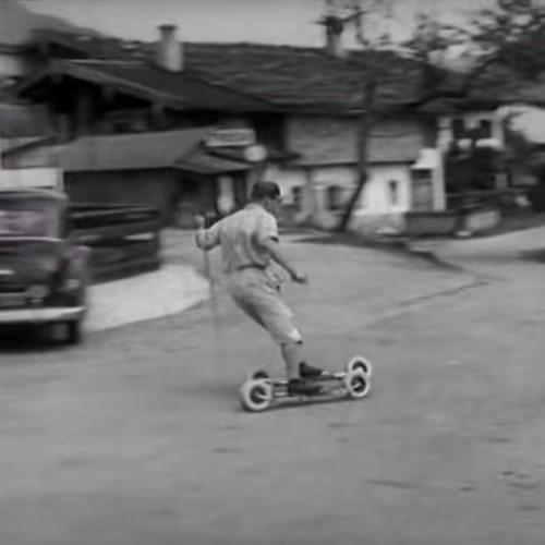 Vídeo: Rollerski en los años 50