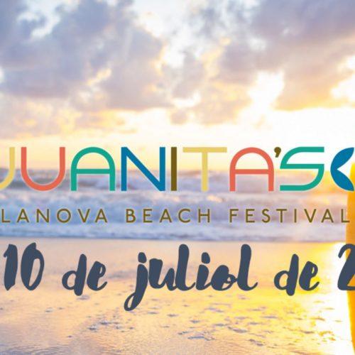 Clases de Rollerski en la playa gratuitas. Juanista' s Vilanova Beach festival