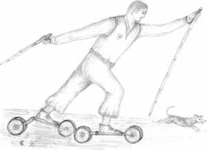 origines del rollerski
