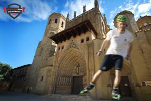 Cursos de rollerski y cross skating en Huesca