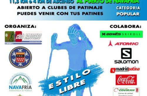 9 de Octubre. VI Trofeo Rollerski Lozoya-Pto de Navafría