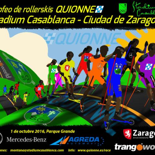 1 de octubre. Trofeo de Rollerski Ciudad de Zaragoza